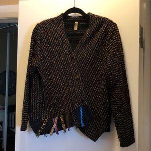 Unstructured boho jacket